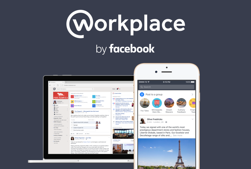 Workplace by Facebook about
